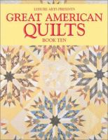 Great American Quilts, 2003