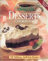 Desserts Cookbook