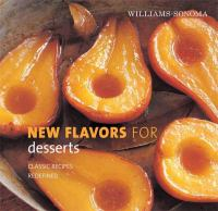 Williams-Sonomas New Flavors for Desserts
