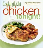 Cooking Light Chicken Tonight!