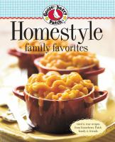 Homestyle Family Favorites