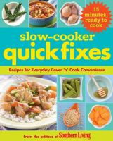 Slow-cooker Quick Fixes