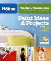 Paint Ideas & Projects