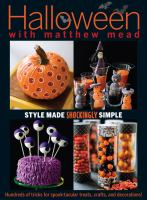 Halloween With Matthew Mead