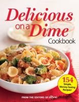 Delicious on A Dime Cookbook