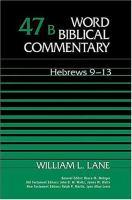 Hebrews 9-13