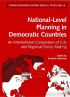 National-level Planning in Democratic Countries