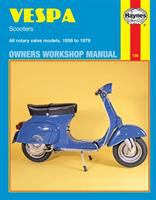Vespa Scooters 90, 125, 150, 180 And 200 Cc. Owners Workshop Manual