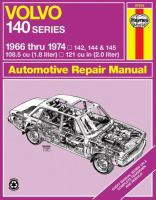 Volvo 140 Series Automotive Repair Manual