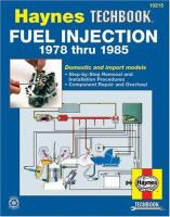The Haynes Fuel Injection Manual