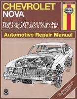 Chevrolet Nova Automotive Repair Manual