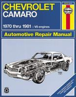 Chevrolet Camaro V8 Automotive Repair Manual