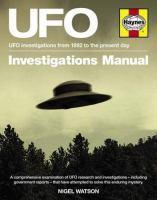 UFO Investigations Manual