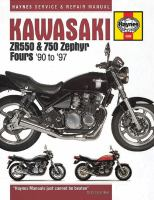 Kawasaki ZR550 & 750 Zephyr Fours Service and Repair Manual
