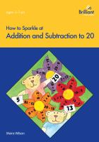 How to Sparkle at Addition & Subtraction to 20