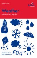 Weather (activities for 3?5 Year Olds)