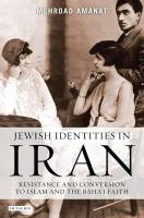 Jewish Identities in Iran