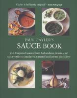 Paul Gayler's Sauce Book