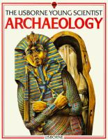 The Usborne Young Scientist Book: Archaeology