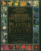 Gardeners' Encyclopedia of Plants and Flowers