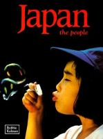 Japan, the People