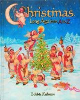 Christmas Long Ago From A to Z