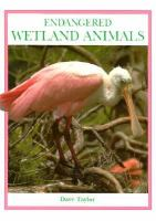 Endangered Wetland Animals