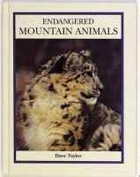 Endangered Mountain Animals