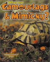 What Are Camouflage and Mimicry?