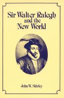 Sir Walter Ralegh and the New World