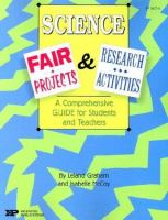 Science Fair Projects and Research Activities