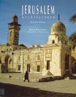 Jerusalem Architecture