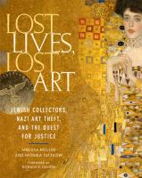 Lost Lives, Lost Art