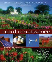 Rural Renaissance
