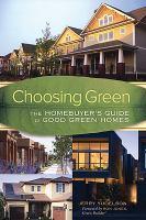 Choosing Green