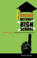 College Without High School