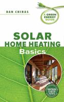 Solar Home Heating Basics