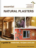 Natural Plasters