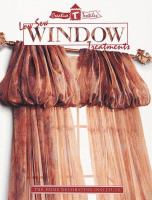 Low Sew Window Treatments