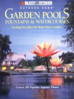 Garden pools, fountains & watercourses