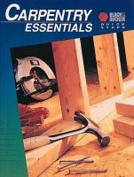 Carpentry Essentials