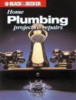Home Plumbing Projects & Repairs