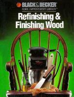 Refinishing & Finishing Wood