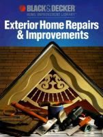 Exterior Home Repairs & Improvements