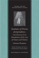 Institutes of Divine Jurisprudence