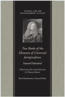 Two Books of the Elements of Universal Jurispurdence