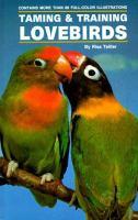 Taming & Training Lovebirds