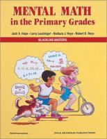 Mental Math in the Primary Grades