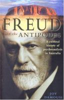 Freud in the Antipodes