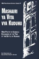 Mashairi Ya Vita Vya Kuduhu
